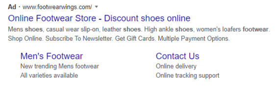 Creating google ads structured snippets-2