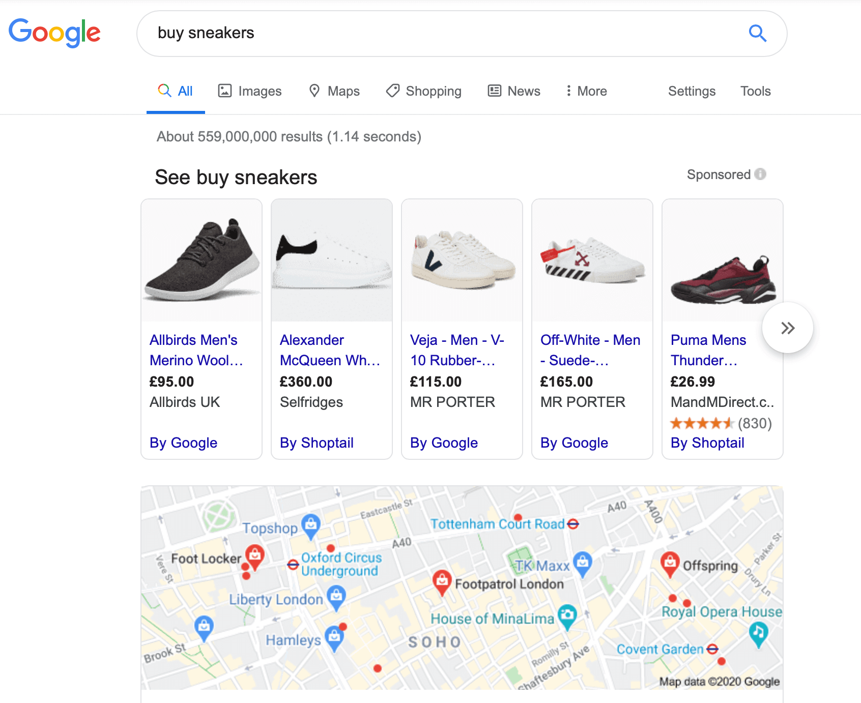 Shopping Campaign displays products from your eCommerce store in Google Shopping