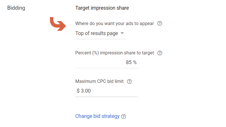 How to maximize impressions with Google ads bidding strategy
